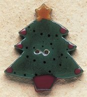 43017 - Christmas Tree - 1 1/8in x 1 1/4in